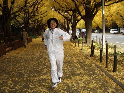 神宮ジョギング